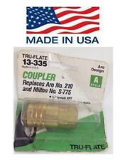 """Tru-Flate 13-335 FEMALE COUPLER Style A 1/4"""" FNPT - Air Quick Connect USA"""