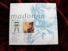 Madonna RARE FRANCE Greatest Hits BOX SET Immaculate Collection GHV2 Promo Case