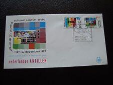 ANTILLES NEERLANDAISES - enveloppe 1er jour 18/12/1979 (B7)