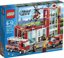 LEGO CITY Fire Station BUILDING TOY SET, City Fire Station 60004 LEGO SET