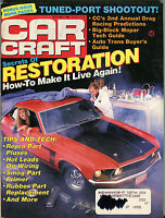 Car Craft Magazine May 1989 Secrets Of Restoration VGEX 032816jhe