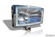 "2 x 24v 9"" Inch Spot Fog Lights Lamp Scania Volvo DAF Truck Lorry 4x4 Van"