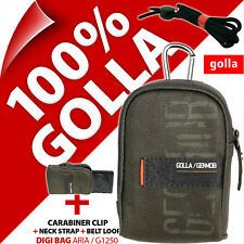 Golla Universal Compact Digital Camera Case Bag Army Green for Sony Fuji Samsung