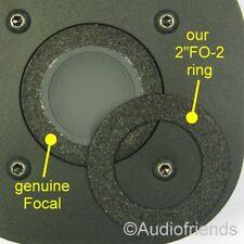 "2x2""FO-2, Foam Surrounds for Focal tweeter T120/T121/TC90K/T100K/TC120K/T101/T92"