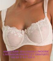 lingeriefemme90C soutien-gorge minimiseur armatures emboitant/profond dentelle