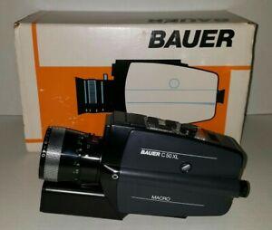 Bauer C50 XL Macro Camera Super 8 Vintage Movie Video Original Box Rare Version