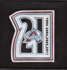 NHL COLORADO AVALANCHE PETER FORSBERG # 21 RETIREMENT JERSEY PATCH