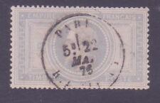 """FRANCE N°33 """"NAPOLEON III 5F VIOLET-GRIS"""" OBLITERE TB"""