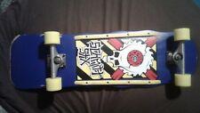 Schmitt Stix Skull Saw Reissue skateboard w/ Vintage Independents & Ugly Stix