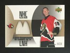 2005/06 Upper Deck McDonalds NHL Gear Dominik Hasek Jersey 02/50