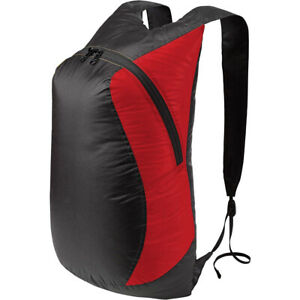 RED --Sea To Summit Ultra-Sil Daypack Ultralight 68g Pack Rucksack Travel 20lt