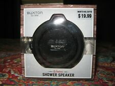 BUXTON Waterproof Bluetooth Shower Speaker