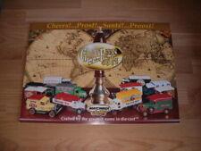 MATCHBOX Collectibles Great Beers Prospekt Broschüre ca. A4 8 Seiten