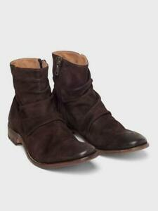 John Varvatos Morrison Sharpei Boot Brown Size 12 Made in Italy New in box