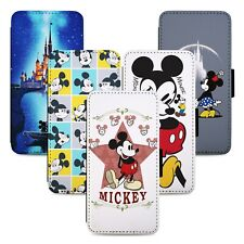 Mickey & Minnie Mouse - Flip Phone Case Cover Wallet - Fits Iphone 6 7 8 X 11