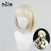 Sa Arknights Chen Sir Ch/'en Cosplay Hair Wig Bun Skin Ver