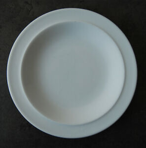 """WHITE of DENBY SMALL PLATE 19cm 7.5"""""""