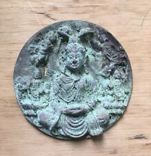 More details for antique bronze buddha from western pakistan swat valley, rare historical bronze