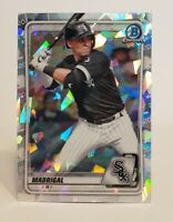 2020 Bowman Chrome Prospect Refractor Atomic NICK MADRIGAL BCP-101 White Sox