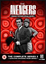 The Avengers  Complete Series 2 And Surviving Episodes From Series 1 [DVD]