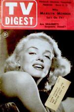 TV Guide 1953 Marilyn Monroe Pre National Joe DiMaggio Jane Russell EX COA Rare
