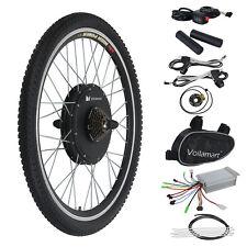 "500W Electric Bicycle E Bike Motor Conversion Kit 26"" Rear Wheel Thumb Throttle"