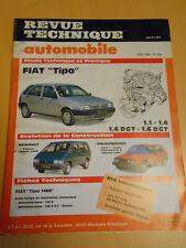 RTA revue technique n° 504 FIAT tipo 1.1 / 1.4 / 1.4 DGT / 1.6 DGT