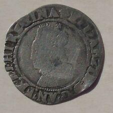 More details for elizabeth i hammered tudor groat, mm cross crosslet, no rose or date, 23mm 1.77g