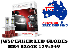 JW Speaker HB4 LED Headlight Globes 12V & 24V