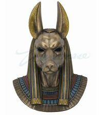 Anubis Bust Egyptian God of the Dead Wall Decoration Figurine Ancient Egypt