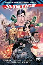 Justice League: Rebirth Deluxe Edition (Book 1) - Hardback, HC Volume - DC - NEW