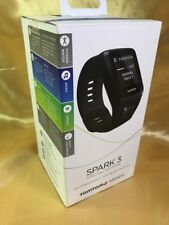 NEW TomTom Spark 3 Cardio + Music GPS Fitness Watch and Headphones, Black, Large