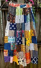 Vintage Patchwork Colorful Hippie Skirt