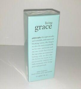 NEW Philosophy Living Grace Eau De Toilette Spray Fragrance SEALED AUTHENTIC