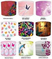 Butterflies Lampshades, Ideal To Match Butterfly Wall Art Wall Decals & Stickers