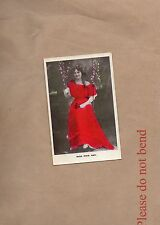 Postcard Edwardian Actress Miss Maie Ash unposted   . b2