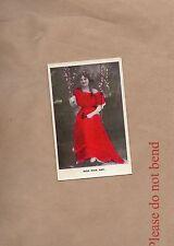 Postcard Edwardian Actress Miss Maie Ash unposted   . b2