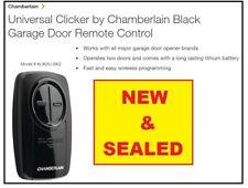 NEW & SEALED  Chamberlain KLIK3U-BK2 Clicker Universal Remote Ctrl Clicker BLACK