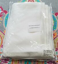 """New ListingThe Company Store Madelyn White Bed Skirt King Sz 18"""" Drop Egyptian Cotton New"""