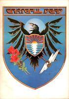 GRATEFUL DEAD / JERRY GARCIA 1983 TOUR CONCERT PROGRAM BOOK BOOKLET / VG 2 NMT