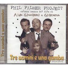 PHIL PALMER PROJECT - Tre uomini e una gamba - ALDO GIOVANNI CD OST 1997 SEALED