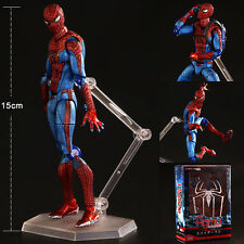 Marvel Avengers Figma Amazing Spider Man Action Figure Model Collection Toy Doll
