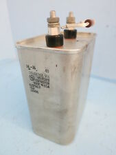 General Electric A26F6817 Dielektrol VII Capacitor 40uF 500VDC A26F6817S USA GE