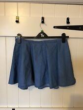 Size 12 Blonde & Blonde Denim Skirt, Flare, Skater Skirt