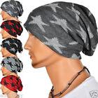 Men Women Star Baggy Slouch Beanie Slouchy Long Knit Cap Hat Skullcap US B072-B