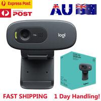 Logitech C270 Laptop or Desktop Webcam HD Built-in Noise Reducing and Widescreen