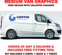 Medium Van Vehicle Lettering Custom Sign Writing Decal Decals Stickers Graphics