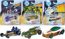 Hot Wheels DC Universe Character Cars - Batman / Killer Croc / the Joker