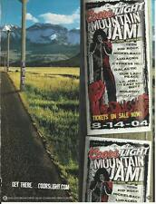 Coors Light Mountain Jam - 8-14-04 - Coors Light Beer - '04 Beer Ad