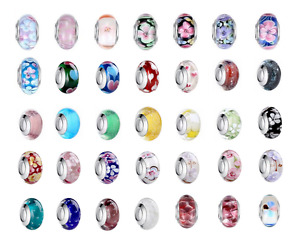 1000+ SOLD Top Quality Murano Glass Bead Charm Fitted European Bracelet